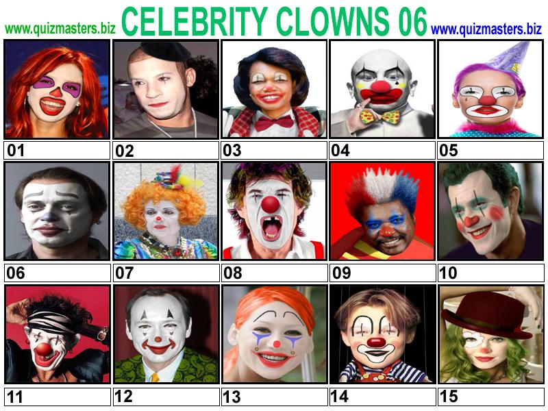 Celeb Clowns