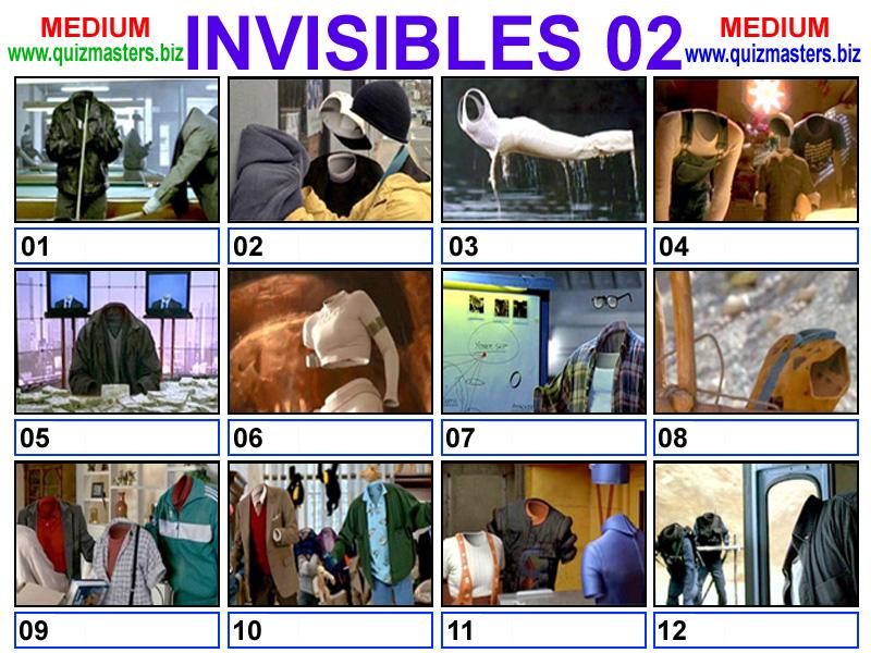 Movie invisible quiz